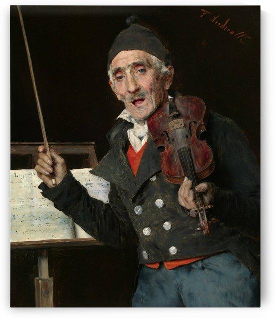 The Violin Teacher by Federico Andreotti