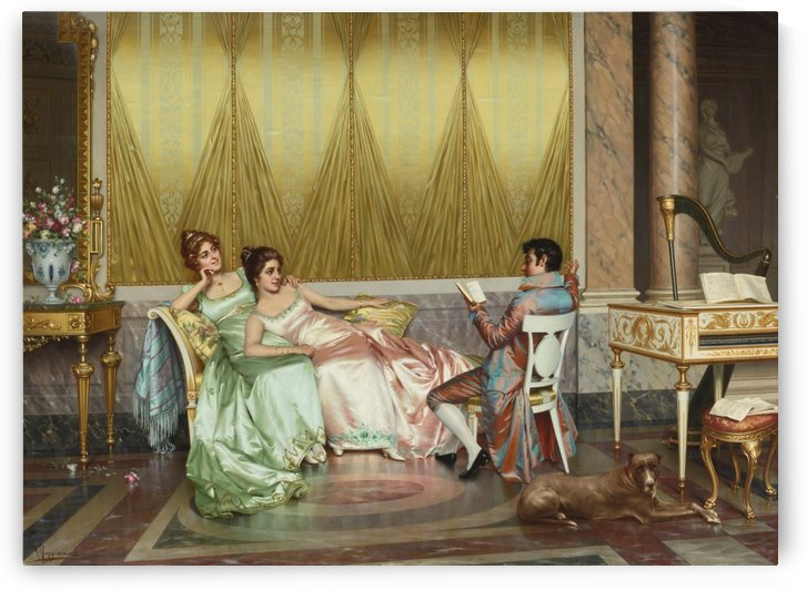 The poetry read by Vittorio Reggianini
