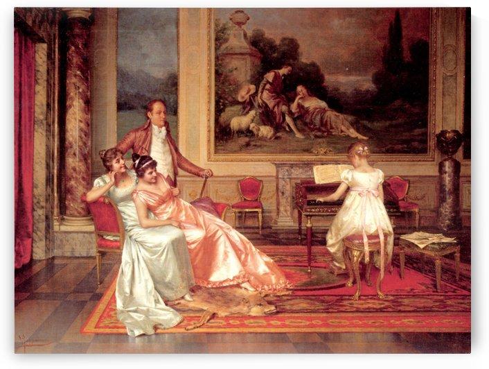 The Piano Recital by Vittorio Reggianini