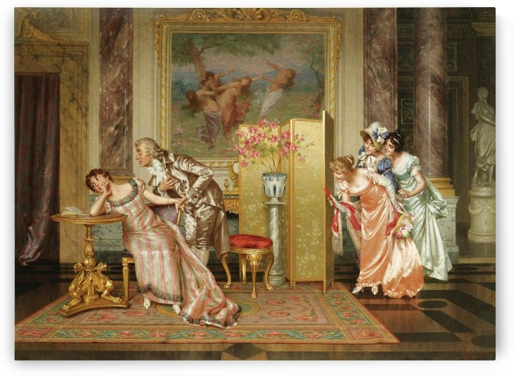Unseen audience by Vittorio Reggianini