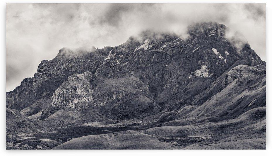 Rocky Mountain from Top of Cruz Loma Hill Quito Ecuador by Daniel Ferreia Leites Ciccarino