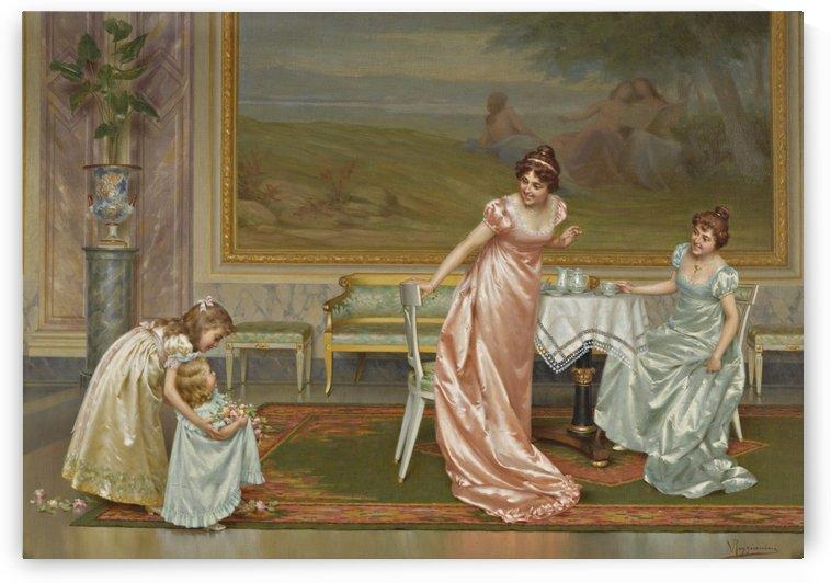 Flowers for ladies by Vittorio Reggianini