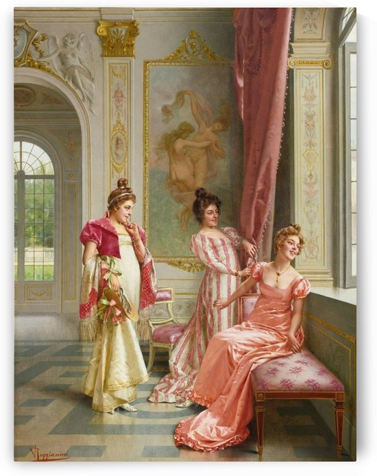 Awaiting a visit by Vittorio Reggianini