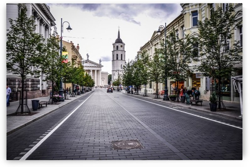 Vilnius, Lithuania by Jure Brkinjac