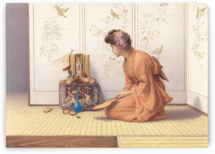 Oriental ambient by Henry Ryland