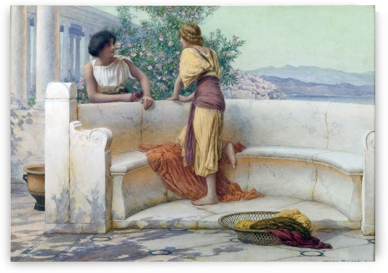 The Love Story by Henry Ryland