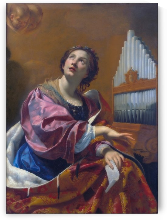 Saint Cecilia by Henry Ryland