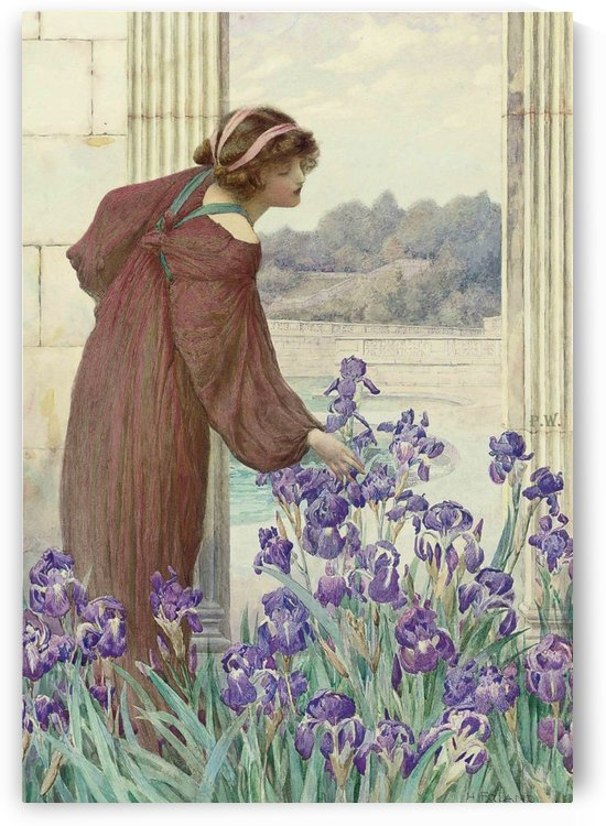 An allegory of spring by Henry Ryland