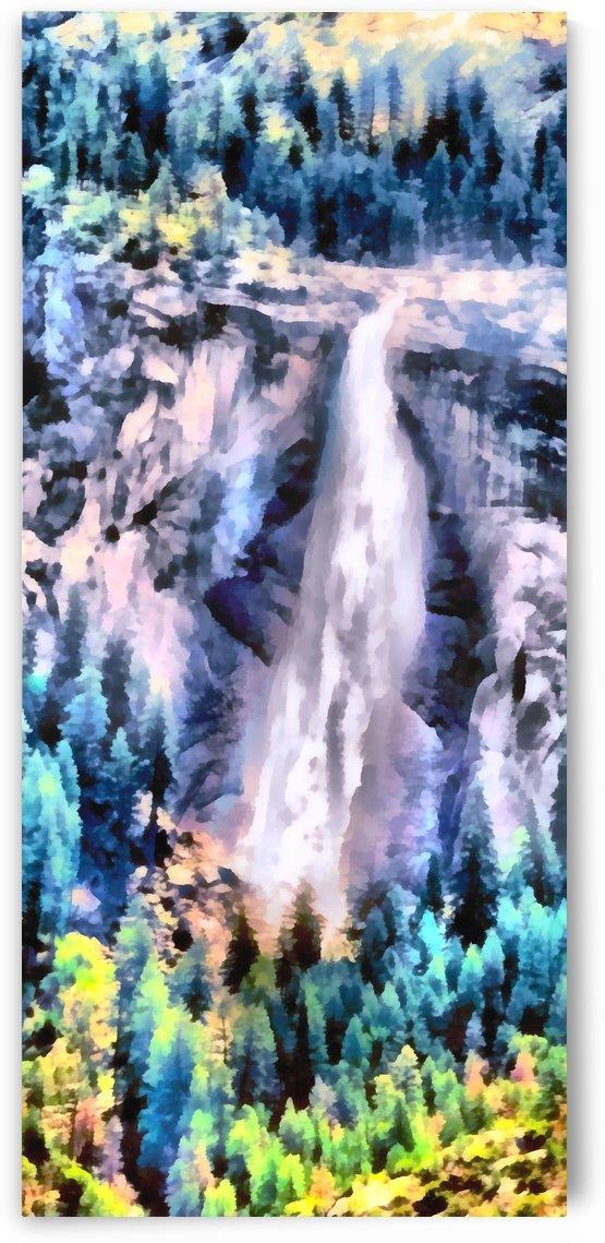 Yosemite  park waterfall2 by Sam Rad