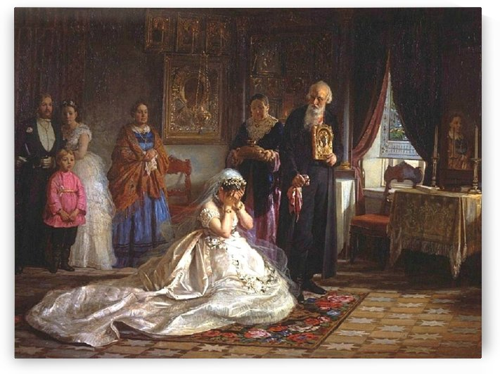 Before the wedding by Firs Zhuravlyov