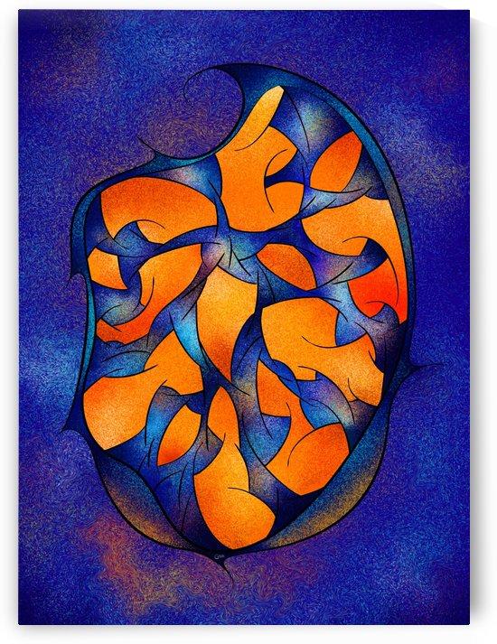 Neoh Peblous V2 - digital abstract by Cersatti Art