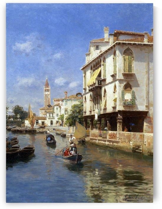 Canale della Guerra, Venice by Rubens Santoro