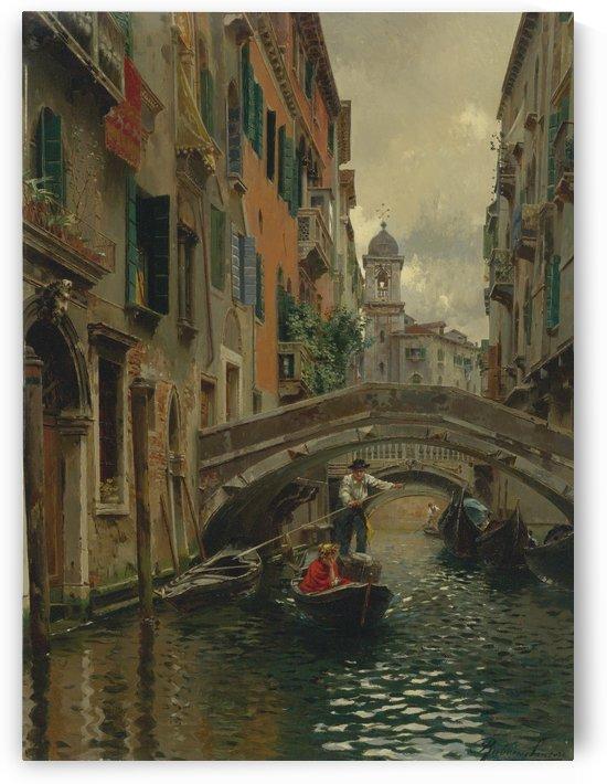 A quiet canal by Rubens Santoro