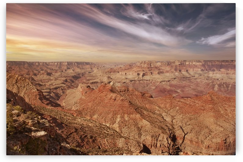 Grand Canyon Sunset by Christopher Dormoy
