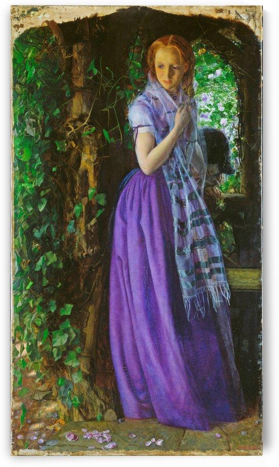 April Love, 1856 by Arthur Hughes