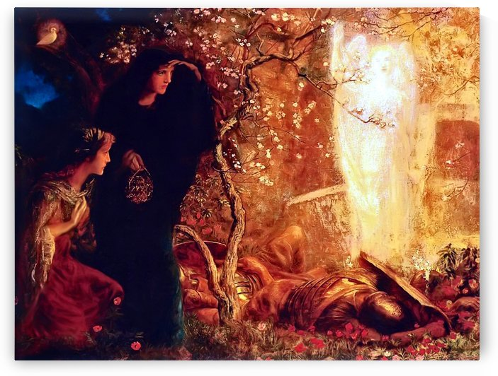 He is risen by Arthur Hughes