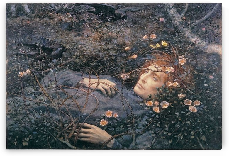 Oh whats that in the hollow by Arthur Hughes