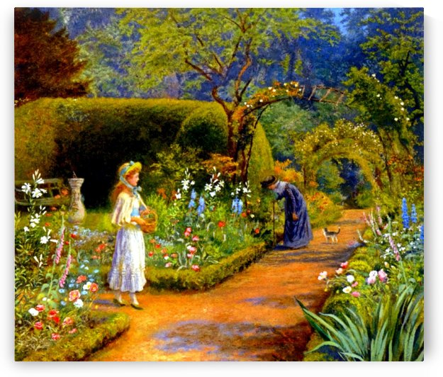 A Visit to Grandmother by Arthur Hughes