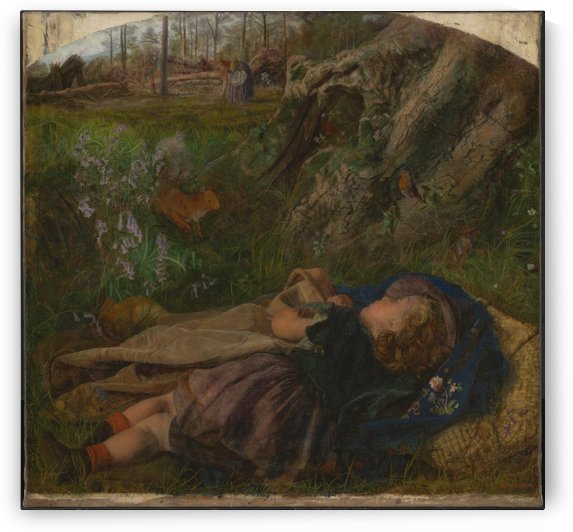 The Woodman Child by Arthur Hughes