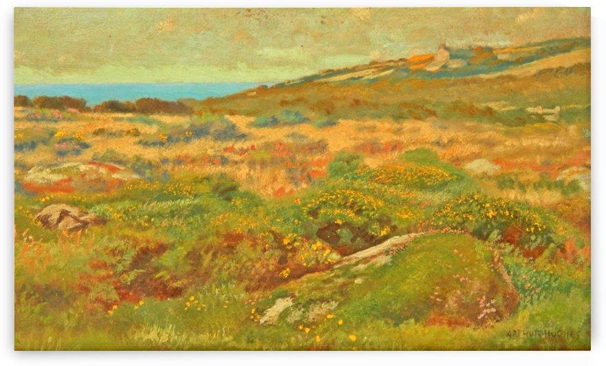 Near St Ives by Arthur Hughes