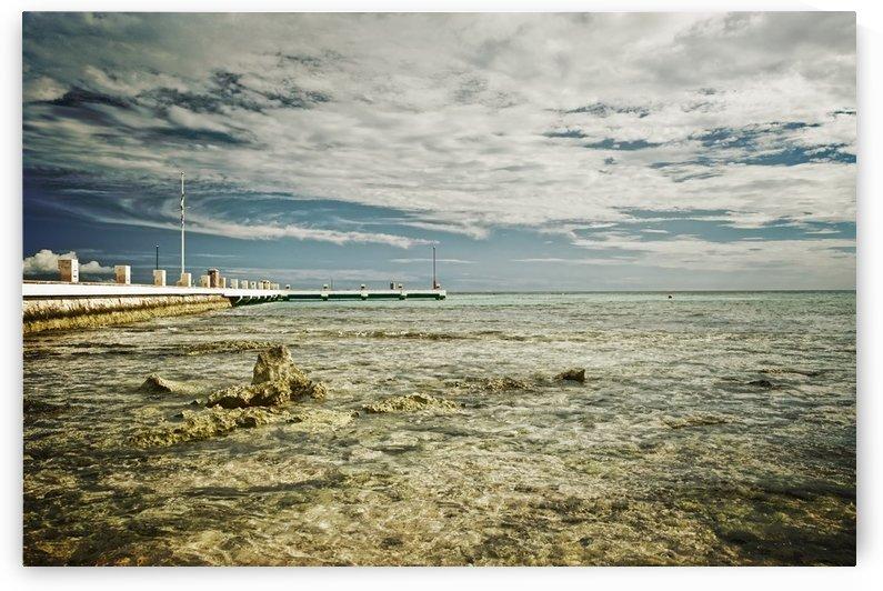 Riviera Maya Beach by Christopher Dormoy