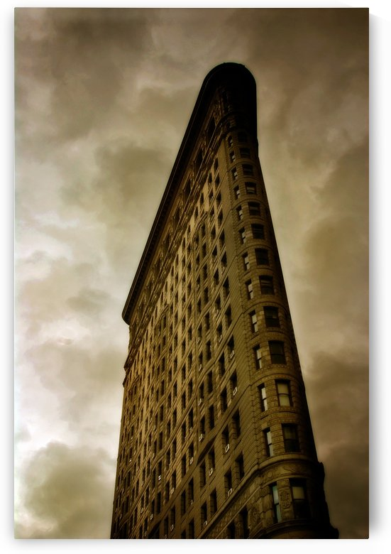 New York Flatiron Building by Christopher Dormoy