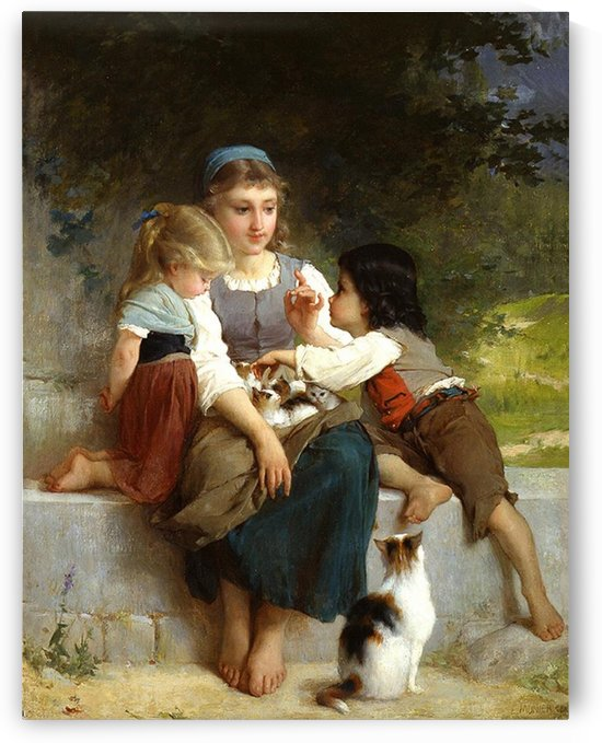 Touching hearts by Talbot Hughes