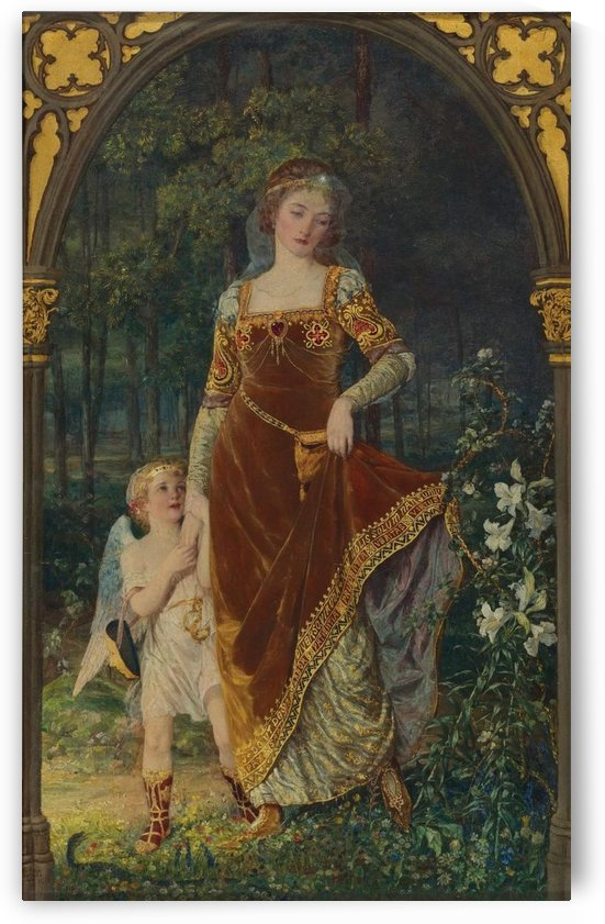 The path of true love by Talbot Hughes