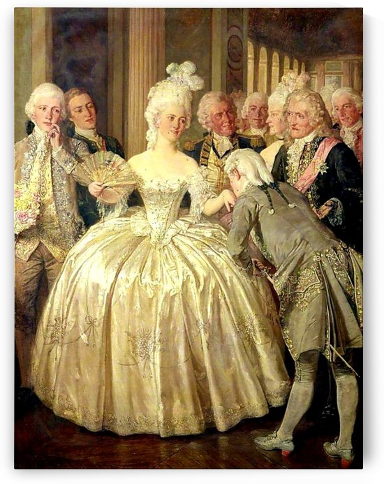 A Court Belle by Talbot Hughes