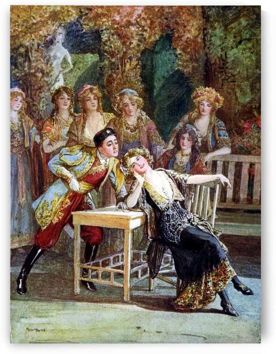 The love parade by Talbot Hughes
