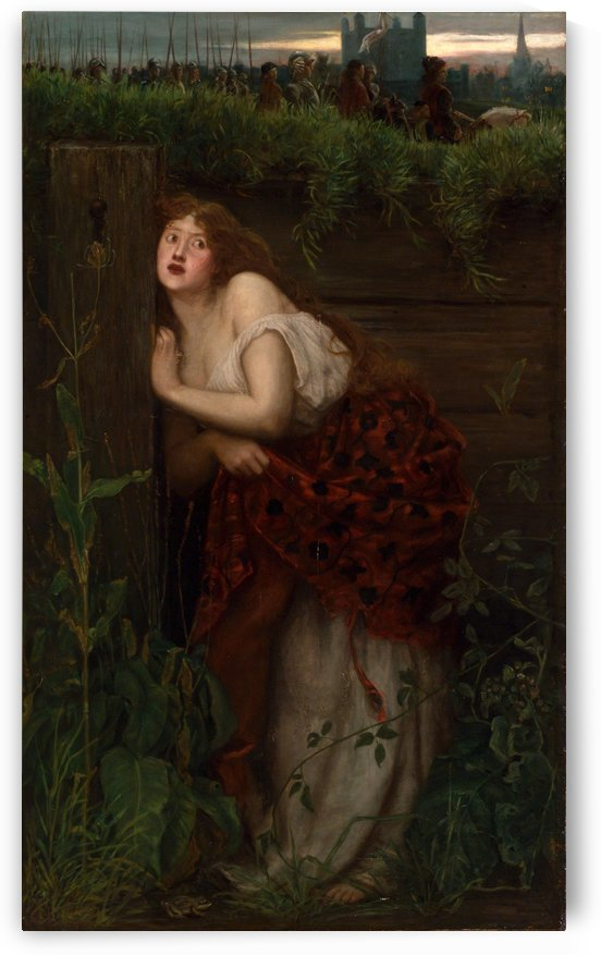 The flight of Jane Shore by Valentine Cameron Prinsep