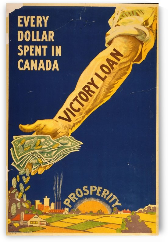 Canada   Victory by VINTAGE POSTER