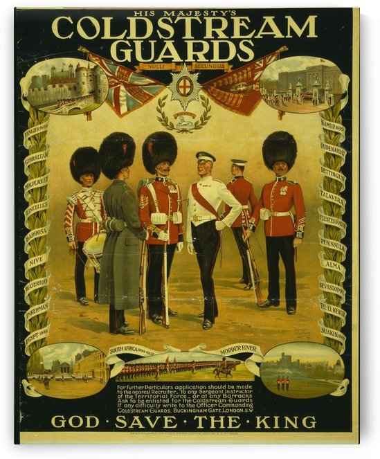 Coldstream Guards by VINTAGE POSTER