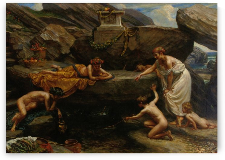 The wonders of of the deep by Edward Poynter