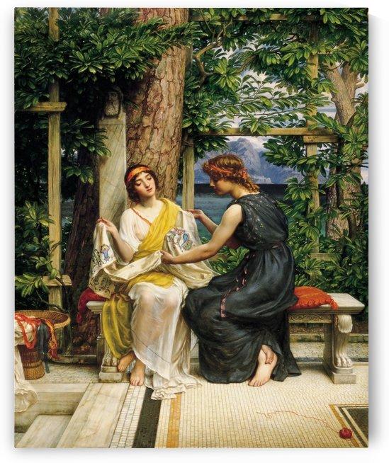 Helena and Hermia by Edward Poynter