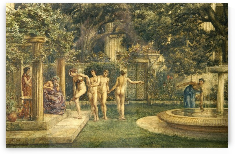 A visit to Aesculapius by Edward Poynter