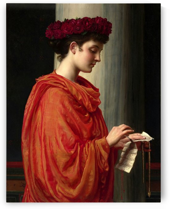 The letter by Edward Poynter
