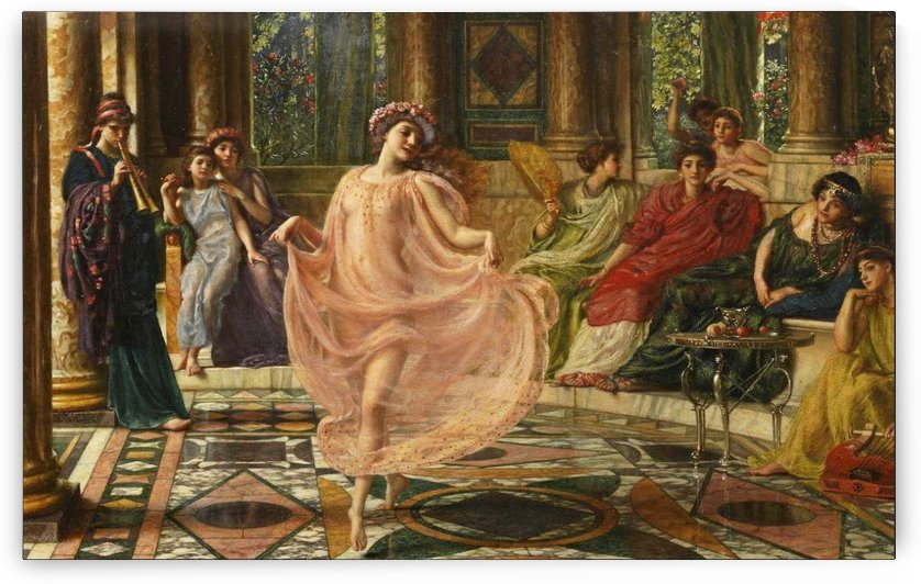 The Ionian Dance by Edward Poynter