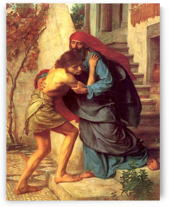 The return of the prodigal son by Edward Poynter