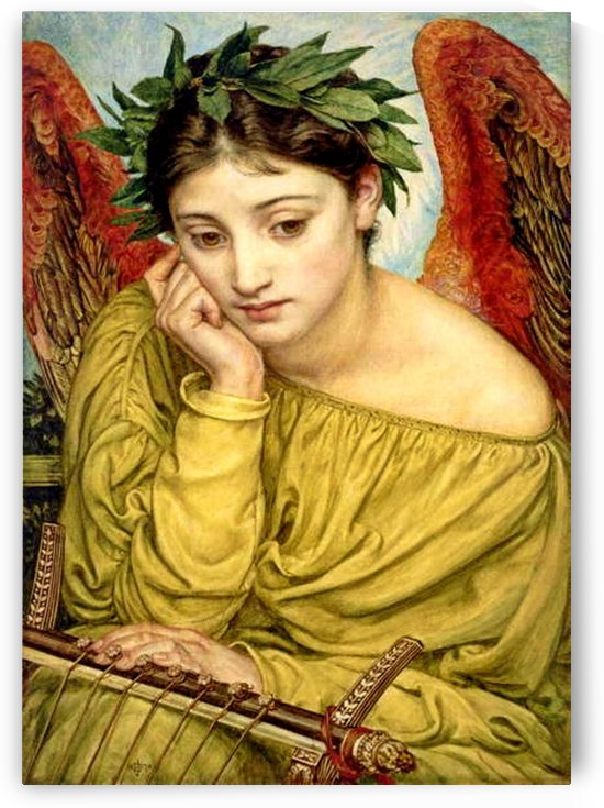 Erato, Muse of Poetry by Edward Poynter