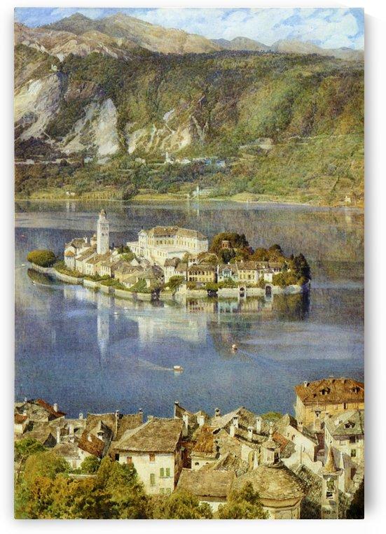 Isola San Giulio, 1898 by Edward Poynter