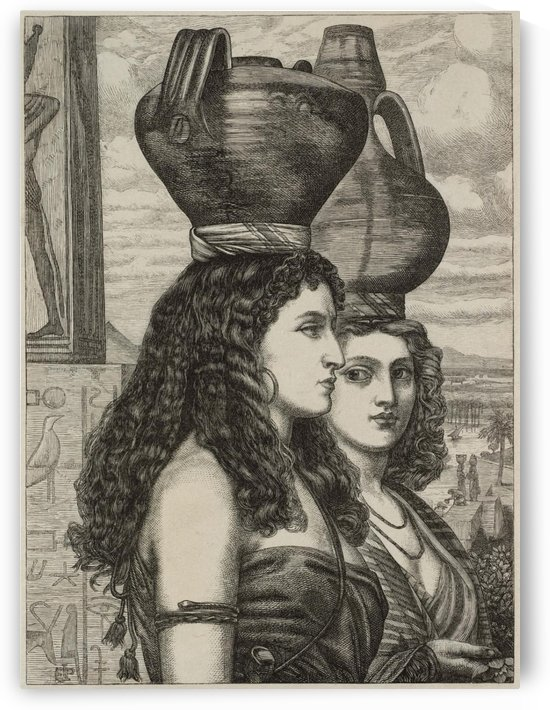 The Israelites in Egypt - Water Carriers by Edward Poynter