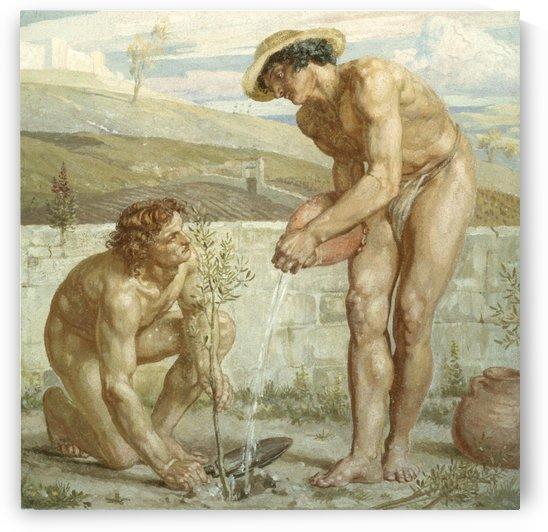Paul and Apollos by Edward Poynter