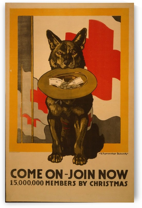 Join now by VINTAGE POSTER