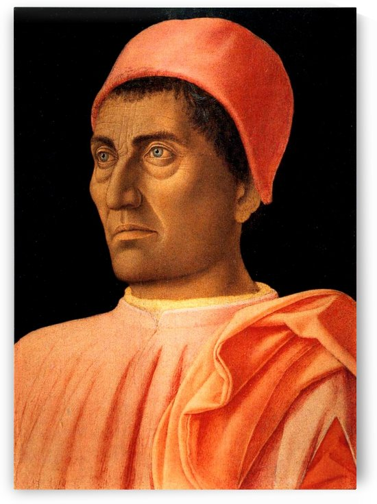 Portrait of Carlo de Medici by Andrea Mantegna