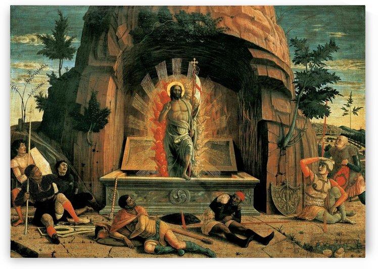 The Resurrection by Andrea Mantegna