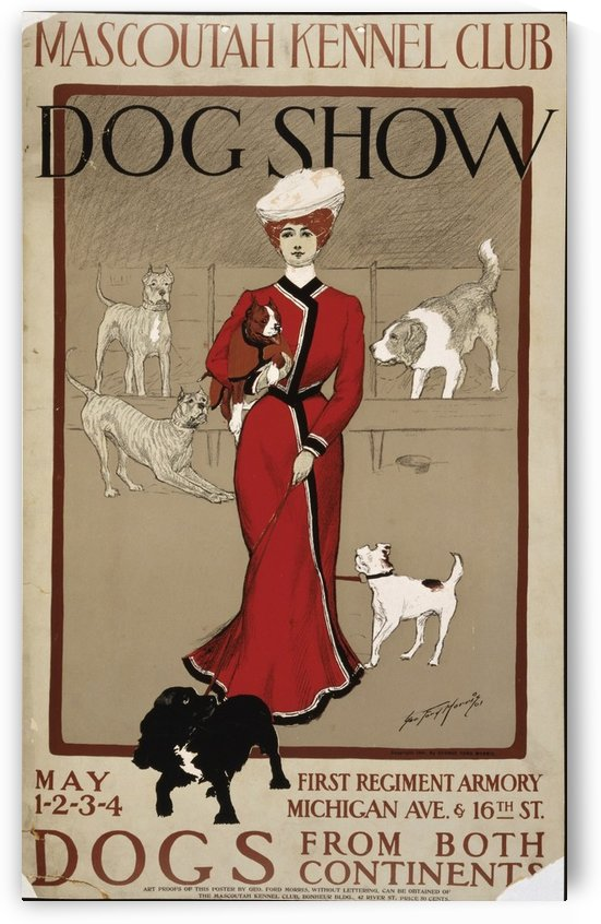 Mascoutah Dog Show by VINTAGE POSTER
