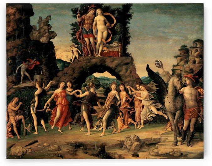 Parnassus by Andrea Mantegna