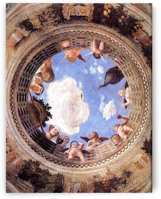 Mantegna Ceiling Oculus in the Camera degli Sposi, Mantova by Andrea Mantegna