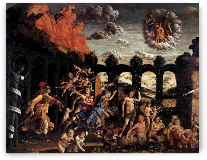 Pallas Expelling the Vices from the Garden of Virtue by Andrea Mantegna